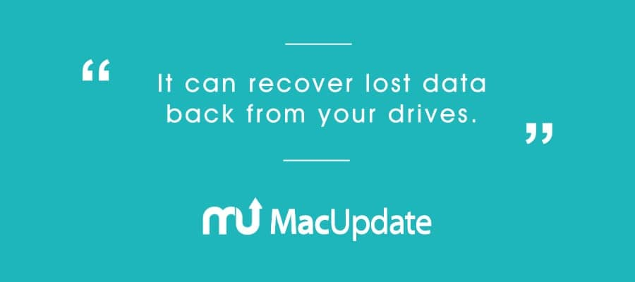 MacUpdate Qoutes for Data Recovery
